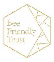 Bee Friendly Logo GOLD on WHITE